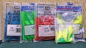 200+ Pcs Vintage Arizona Archery Plastic Fletch ~ Assorted Sizes & Colors ~ NOS