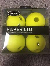 Atec Hi.Per Ltd Limited Distance Training Baseballs - 4 Pack - Brand New!