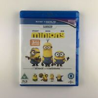 Minions (Blu-ray, 2015) *New & Sealed*