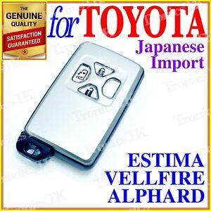FOR TOYOTA ESTIMA / ALPHARD / VELLFIRE REMOTE SMART KEY 3 BUTTONS