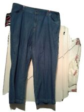 Woman Within Women Plus Size Denim Wide Leg Jeans. Size 22 Petite