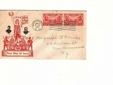 1937 HEROES OF THE AMERICAN ARMY FIRST DAY COVER  U.S. #786  (mb14