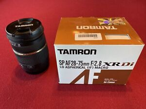 Tamron A09 SP 28-75mm F/2.8 XR Di LD Aspherical Lens for Canon EF