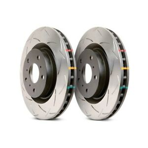 DBA Front 4000 Series Slotted Brake Rotors (Pair) For Nissan R32 GT-R