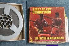 MUHAMMAD ALI (RIP) JOE FRAZIER FIGHT OF THE CHAMPIONS 8MM FILM 1971 MADISON SG
