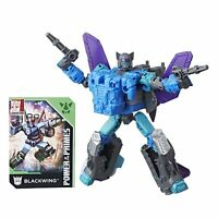 Transformers Generations Power of the Primes Deluxe Class Blackwing Mint in Box