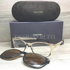 689d1fa4778e Tom Ford TF 5474 TF5474 Eyeglasses Gold Havana 32E Authentic 53mm