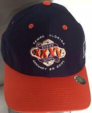 New York Giants Super Bowl XXXV NFL Football Embroidered Snapback Blue Cap Hat