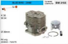8480860 722270 CILINDRO E PISTONE DECESPUGLIATORE BLUE BIRD ZANE K30 M34 Ø 36 mm