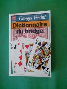 Dictionnaire du Bridge - Georges Versini