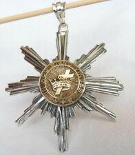TEMPLAR Masonic Freemason Star Pendant