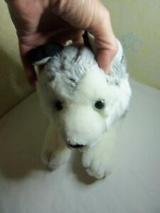Animal Alley Toys R Us Plush Gray White Siberian Husky Dog Wolf Stuffed 2007 Pup
