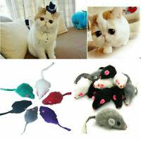 Pelz Falsche Maus Haustier Kätzchen Katze Spielzeug 5 Zufällig Spielen Lust G6R7