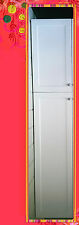 Flat Pack Kitchen Cabinets Matt White Shaker Broom Cupboards Pantry 400
