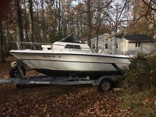 1988 Angler Cuddy Fishing Boat w Motor, West Chester PA | No Fees & No Reserve