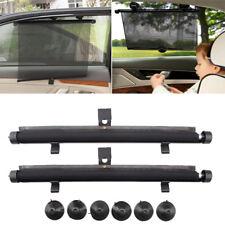 2x CAR WINDOW SUN SHADE AUTO ROLLER BLIND SCREEN PROTECTOR PROTECTION 45 *55cm