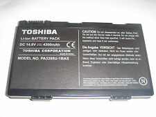 Batterie D'ORIGINE TOSHIBA PA3395U Satellite M30X M40X GENUINE Battery ACCU