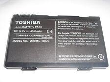 batteria originale TOSHIBA PA3395U Satellite M30X M40X ACCUMULATORE