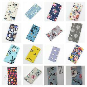 Oil Cloth Snap Top Glasses Case  *  Various Designs * Waterproof & Wipe clean