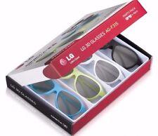 LG AG-F315 - 4 Pack of Passive 3D Glasses for LG Cinema 3D TV - Party Pack