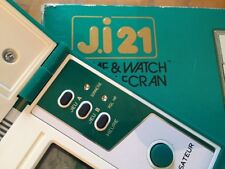 Ultra rare JI21 FRENCH CONSOLE GREEN HOUSE NINTENDO 1982 GAME AND WATCH