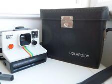 RARE SX70 Polaroid 1000 Land Instant Camera & Original leather Case