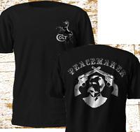 New Colt Firearm Peacemaker Wyatt Earp Cowboy Gun Pistol Doc Black T Shirt S-5XL