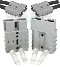 50 Amps Anderson Sb50® Connector Kit, 36V Gray Housing, w/ 6 Awg, 6319 ( 2-Set)