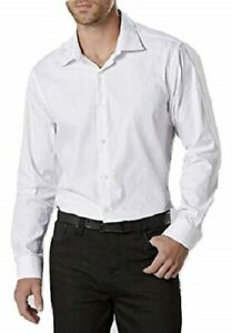 Structure Men's Modern Fit Dress Shirt Core White NWT Polybaged MSRP$ 35