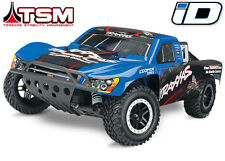 NEW Traxxas Slash 4x4 VXL Brushless RTR Short Course RC Truck BLUE w/TSM 68086-4