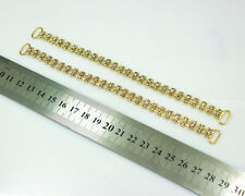 10Pcs 17CM Crystal Rhinestone Bikini Connectors Metal Chain For Swimming Wear
