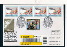 Christkindl-Reco-Brief 21.11.2008, Ersttag, LZ Mattsee    (CH9)