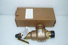 """Kunkle 6010HGM01-KM-0075 Safety Relief Valve Bronze 1-1/2"""" - 2"""" 1350 SCFM 75PSI"""