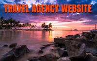 TRAVEL AGENCY WEBSITE BUSINESS (FREE DOMAIN,HOSTING, SEO INC) WORK FROM HOME