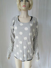 Cotton Long Sleeve Spotted Other Women's Tops