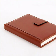 A5 Retro Leather Business Journal Notebook Lined Paper Diary Planner 360Pages