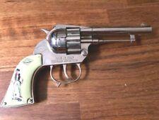 Pistola giocattolo Pecos Bill 12 colpi della MMM Mondial in versione cromata