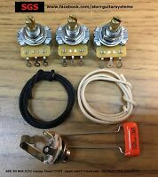 Replacement electronics for Fender Jazz Bass! DIY Kit!