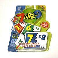 7 Ate 9 Card Game Fast and Fun Number Crunchn Out of the Box w Deluxe Card Case