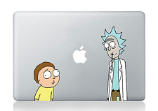 Rick and Morty Staring at Apple Macbook Laptop Dell HP iPad Car Decal Sticker