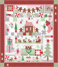 FABRIC Moda QUILT KIT ~ SUGAR PLUM CHRISTMAS ~ by Bunny Hill Designs