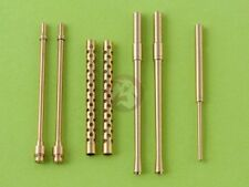 Master 1/32 7.7mm MG & 20mm Cannon Barrels & Pitot Tube A6M5 Zero WWII AM-32-006