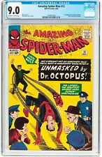 The Amazing Spider-Man #12 ( May 1964, Marvel Comics) CGC 9.0 VF/NM Dr. Octopus