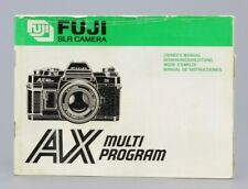 Fujica AX Multi Program  Mode d'emploi d'origine (Réf#R-079)