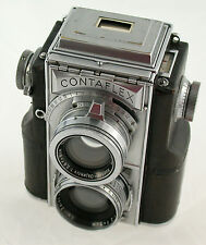 Zeiss IKON CONTAFLEX 35mm tlr twin Lens sonnar 2/50 860/24