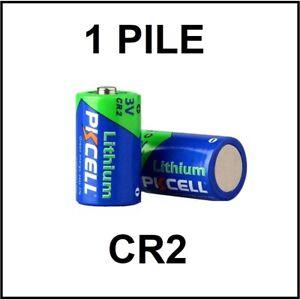 1 PILE CR2 / 3V LITHIUM / ENVOI RAPIDE