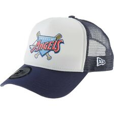 NEW ERA MENS BASEBALL CAP.ANAHEIM ANGELS MLB COAST 2 COAST TRUCKER HAT 8S2 1170