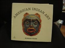 1st Edition Book, AMERICAN INDIAN ART by Norman Feder, 300+ ILLUS