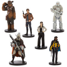 Solo: A Star Wars Story 6 Action Figure Play Set,Han Solo -Chewbacca - Lando New