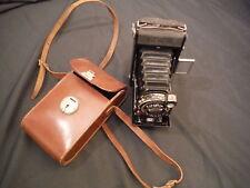 Zeiss Ikon Nettar 515/2 Folding Camera 1937 with case (2131)
